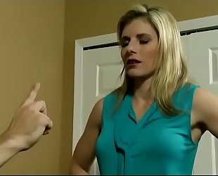 Cory follow in milf was puzzled about her stepson
