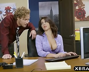 Big gazoo valentina nappi office footjob oral pleasure and fuck