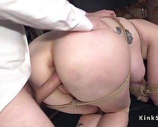 Big arse redhead milf anal slavery drilled