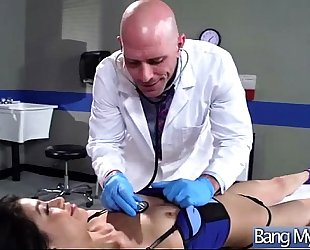 Sex in hospital office room with bitch patient (veronica rodriguez) clip-29