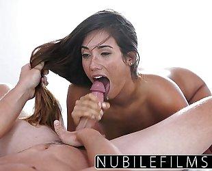 Eva lovia takes bosses dong and cum
