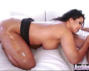 Anal sex tape with oiled large arse luscious white women (kiara mia) clip-20