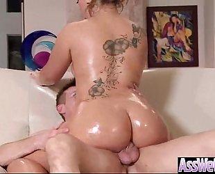 (klara gold) large moist booty horny dirty slut wife love hard anal sex movie-18