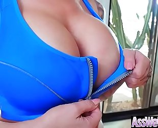 (ryan conner) large oiled booty dirty slut wife like unfathomable anal hardcore team fuck vid-29