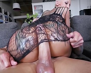 Bangbros - a short-haired bella bellz receives anal for her large wazoo