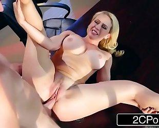 Hot office sex with kagney linn karter