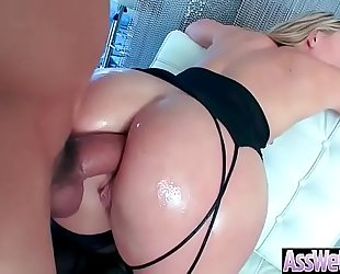 Anal sex scene with sexy large a-hole oiled Married slut (aj applegate) video-03