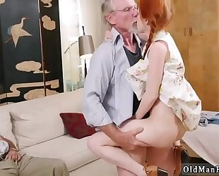 Old chap educate youthful and mamma hardcore fuck 1st time online hook-up