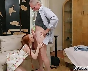Old chap s and teacher copulates youthful student xxx for this discharge we got a