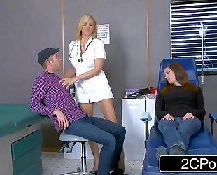 Cougar julia ann is one sexy nurse
