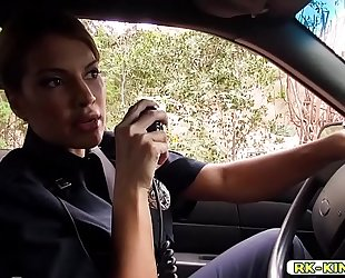 Police officer mercedes carrera unfathomable mouth oral-sex markus dupree