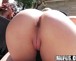 Mofos - real wench party - (kimber lee) - bikini women fucking poolside
