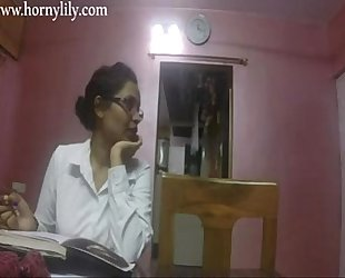 Indian aunty sex lewd lily in office hd