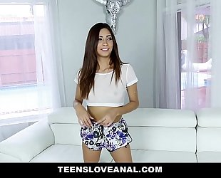 Teensloveanal - hawt legal age teenager jade jantzen acquires arse stretched and drilled