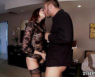 Exclusive chick chanel preston's intimate little affair.