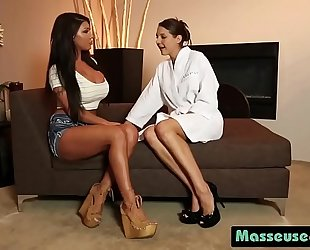 Sadie holmes and august taylor slippery hairless bawdy cleft scissoring fucking8p-1