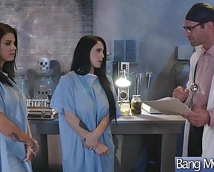 Gorgeous doxy patient (noelle easton & peta jensen) tempt and gangbang with doctor mov-24