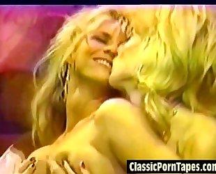 Horny 80s lesbo vintage porn