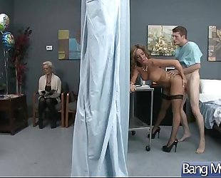 Patient (richelle ryan) and doctor in hawt sex scene act clip-26
