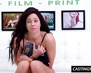 Banging legal age teenager harlow harrison at casting