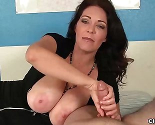 Ct-super big-titted milf jacks u off