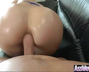 Amazing anal sex on webcam with large butt oiled dirty slut wife (anikka albrite) video-05