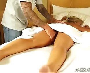 Amber lynn bach massage three