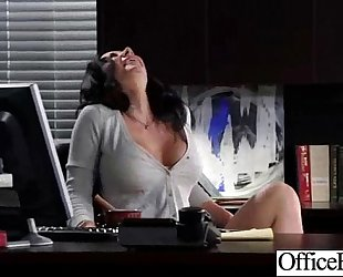 Hard sex act in office with breasty nasty BBC slut (jayden jaymes) vid-14
