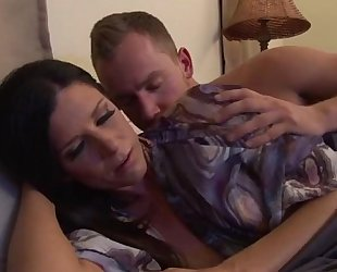 Upset mother calmed by stepson - greater amount episodes on www.amateurcams.cf