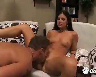 Sexy milf india summer has her tasty bawdy cleft licked and sticked