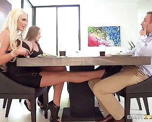 Nicolette gets her big butt fucked acquire greater quantity
