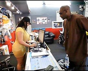 Angelina castro loves to fuck big black cock