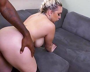 Bbc anal with big ass nina kayy