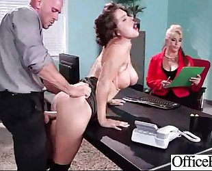 Hot hawt black cock sluts (krissy lynn) with large round whoppers receive sex in office mov-20
