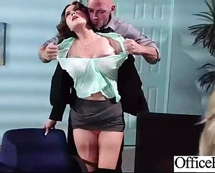 Sex in office with large melon pantoons worker dirty slut wife (krissy lynn) movie-22