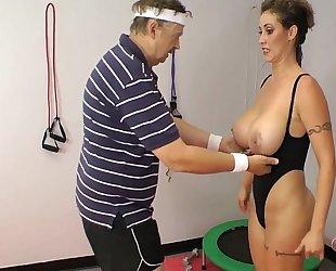 Eva notty in training