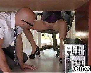 Busty office amateur wife (lela star) group sex hard style at work clip-21