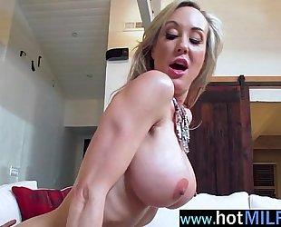 Hot milf (brandi love) action like a star riding massive monster shlong in sex tape video-11